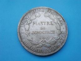 INDOCHINE   1  Piastre   1908   -- TB -- - Colonies