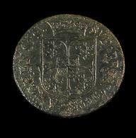 Liard Buste Large  -   Charleville-Mézières - France - 1610 -   TB - - 476-1789 Monnaies Seigneuriales