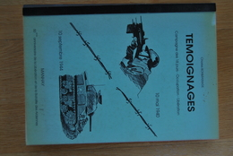 1702/ MANHAY-Témoignages Campagne 18 Jours-Occupation-Libération-10 Mai 1940/10 Sept.1944-Bonmariage - Books, Magazines, Comics