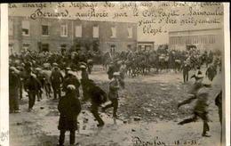 MANIFESTATIONS - Carte Postale Photo - 1933 - Broulay - La Charge Sur Les Paysans - L 30257 - Grèves