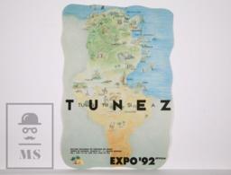 Sticker - Expo Seville 92 / 1992. Tunisia - 9,5 X 14,5 Cm - Pegatinas