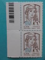 TIMBRE :MARIANNE De La JEUNESSE ,No:5234  ,surchargés 2013-2018,bord Code Barre ,XX Timbres En Bon état - 2013-... Marianne De Ciappa-Kawena
