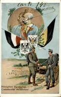 MILITARIA - Carte Postale Patriotique Allemande - L 30260 - Patriottisch
