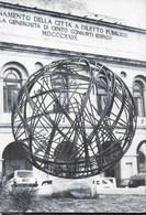 MACERATA - SFERISTERIO - SCULTURA DI UMBERTO PESCHI - VIAGGIATA 1991 - Sculture