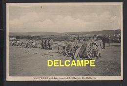 DD / MILITARIA / RÉGIMENTS / BRUYÈRES VOSGES / 5è RÉGIMENT D' ARTILLERIE  -  EN BATTERIE / ANIMÉE - Regiments