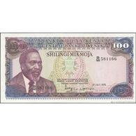 TWN - KENYA 18 - 100 Shillings 1.7.1978 Prefix B/98 UNC - Kenia