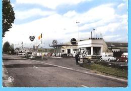 Frasnes-lez-Couvin (Couvin-Philippeville)-+/-1960-Garage Theis-Volkswagen (VW)-Coccinelle-Pompes Fina-Pub.Studebaker - Couvin
