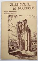 VILLEFRANCHE DE ROUERGUE - Dépliants Touristiques