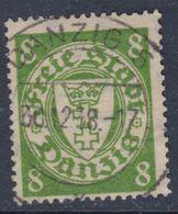 Dantzig N° 240 O Partie De Série :8 P. Vert-jaune Assez Belle Oblitération, TB - Autres - Europe