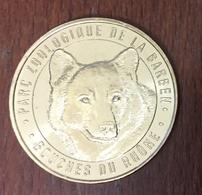 13 BOUCHES DU RHÔNE LA BARBEN ZOO LE LOUP MÉDAILLE MONNAIE DE PARIS 2019 JETON TOKEN MEDALS COINS - 2019
