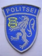 POLICE Patch Estland Estonia Police And Border Guard - Polizei