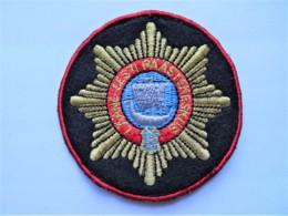 POLICE Fire Department Patch Estland Estonia Lääne Päästekeskus - Polizei
