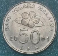Malaysia 50 Sen, 2004 -4152 - Malasia