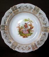 PLAT Creux Saladier Porcelaine Porzellan Porcelain Germany Deutschland Allemagne BAVARIA Oscar SCHALLER C1950 ? - Winterling (DEU)