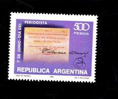 775657589 1980 SCOTT  1270 POSTFRIS  MINT NEVER HINGED EINWANDFREI  (XX) - BUENOS AIRES GAZETTE 1810 SIGNATURE - Argentinien