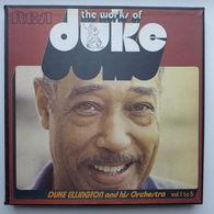 LP/ Duke Ellington - The Works Of Duke - Intégrale Volume 1 To Volume 5 - Coffret De 5 LP - Jazz