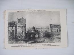 CPA  14  Arrondissement De Pont-l'Eveque Chateau De Reux TBE - Pont-l'Evèque