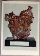 1974 Rame Nativo. Frammento Nella Roccia All' Impruneta Firenze / Museo Civico Di Storia Naturale Di Milano - Cartoline