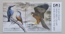 Griekenland-Greece 2019 Europe Birds Stampset - 2019
