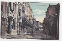 Porto Alegre - Rua General Camara - 1913     (A-76-170708/2) - Porto Alegre