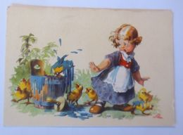 Kinder, Mode, Küken, Eimer, Farbe,      1959 ♥  - Kinder