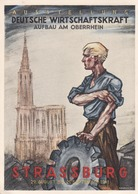STRASSBURG - STRASBOURG - BAS-RHIN - (67)  - PEU COURANTE CPA DE 1941 - BEL AFFRANCHISSEMENT.. - Strasbourg