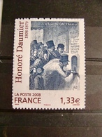 TIMBRE ADHESIF HONORE DAUMIER 2008 - France