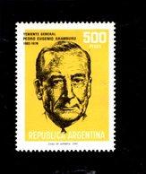 775663388 1980 SCOTT  1272 POSTFRIS  MINT NEVER HINGED EINWANDFREI  (XX) - GEN PEDRO ARAMBURU - Argentinien