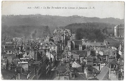 PAU - La Rue Bernadotte Et Les Coteaux De Jurançon[16391] - Pau