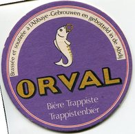 "PORTAVASOS ""ORVAL"", BIERE TRAPPISTE TRAPPISTENBIER. CERVEZA BEER.- LILHU - Beer Mats"