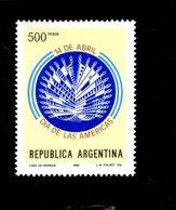 775663658 1980 SCOTT  1264 POSTFRIS  MINT NEVER HINGED EINWANDFREI  (XX) - OAS EMBLEM - Argentinien