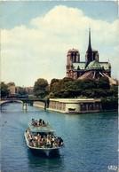 Paris - Notre-Dame Et La Seine - Notre Dame Von Paris