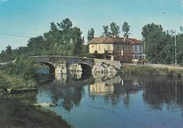 CASTELLETTO DI CUGGIONO-MILANO-TRATTORIA DEL PONTE E NAVIGLIO GRANDE-CARTOLINA VIAGGIATA IL 10-3-1975 - Milano
