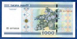 Belarus-  1000 Rublei  -  Pick # 28  --  état  SPL - Belarus