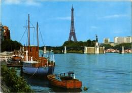 Paris - Tour Eiffel Et La Seine - Eiffelturm