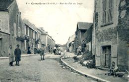 N°73166 -cpa Crespières -rue Du Pot Au Logis- - Autres Communes