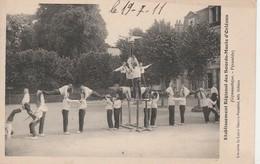 - 45 - CPA - ORLEANS - Etablissement Régional Des Sourds-Muets - Gymnastiques - Pyramide - 025 - Orleans