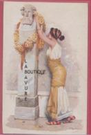 ILLUSTRATEUR----BELTRAME--L'Offre---Femme Et Statue---art Nouveau - Illustrateurs & Photographes