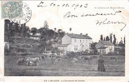 EN LIMOUSIN - CPA PRÉCURSEUR ANIMÉE DE 1903. - Limousin
