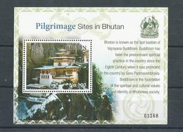 Bhutan - 2017 - Pilgrimage Site Of Bhutan  -  Miniature Sheet  - MNH, - Bhutan
