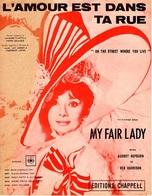 B.O.F. MY FAIR LADY 1964 - L'AMOUR EST DANS LA RUE - AUDREY HEPBURN - EXCELLENT ETAT - BELLE ILLUSTRATION - - Music & Instruments