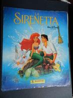 3) ALBUM LA SIRENETTA  DISNEY EDIZIONE PANINI NON COMPLETO CON 108 FIGURINE CIRCA BUONE PER RECUPERO - Edizione Italiana
