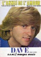 DAVE - 1981 - L'ANNEE DE L'AMOUR - EXCELLENT ETAT PROCHE DU NEUF - - Autres