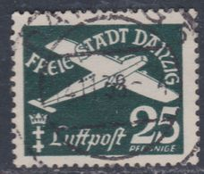 Dantzig PA N° 37 O  Partie De Série : 25 P . Vert-noir Trace De Charnière Sinon TB - Autres - Europe