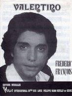 FREDERIC FRANCOIS - 1977 - VALENTINO - EXCELLENT ETAT COMME NEUF - - Autres