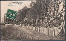 Langon , Hippodrome Des Vergers , Animée - Langon