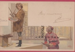 ILLUSTRATEUR---METLICOVITZ--Tosca---précurseur - Illustrateurs & Photographes