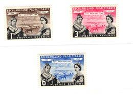 Bechuanaland, 1960, SG 154 - 156, Mint Hinged - Bechuanaland (...-1966)