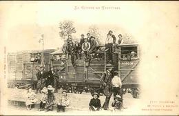 MILITARIA - Carte Postale - La Guerre Au Transvaal - 1650 Kilomètres En Wagon à Bestiaux - L 30296 - Andere Kriege