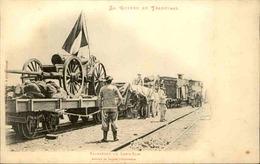 MILITARIA - Carte Postale - La Guerre Au Transvaal - Transport Du Long Tom - L 30297 - Andere Kriege
